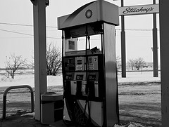 Gas pump, by Valerie Everett